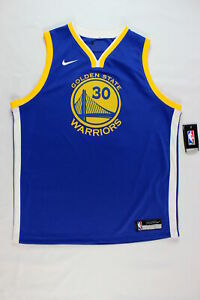Nike Dri Fit Golden State Warriors Jersey Size XL NWD