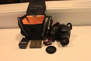 Canon EOS 50D + Case + EXTRA BATTERY + EF 35-80mm Lens