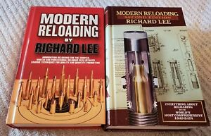 Modern Reloading Richard Lee-1st and 2nd editions-Most comprehensive load data