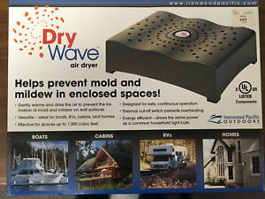 DryWave 1000 Gently Warms the Air Prevent Mold Ideal for Boat Draws only 120 W