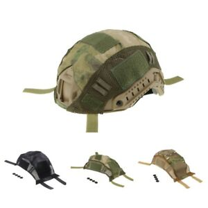 MagiDeal FAST Camo Helmet Accessories Cover CS Game Field Equipment 3 Colors