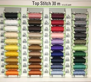 Top Stitch Gutermann Sewing Thread 30m 33 Yards Extra Strong Premium Quality GBP 2.75
