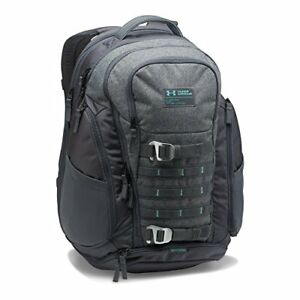 Under Armour Backpack College Laptop Book Bag Water Resistant School Bag Gray