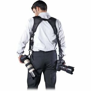 Double Camera Strap by CameraSlingers - Dual Strap Harness