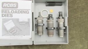 RCBS Carbide 3 Die Set for 357 Mag38 Spl 357 Max #18212 With Manual 2 Stems