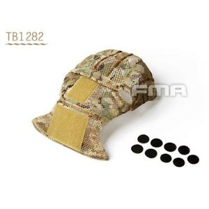 FMA Multicam Helmet Cover for AF CP Tactical Helmet Protective Cover TB1282-MC