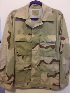 Desert Camo Combat Coat Size Small Short