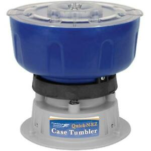 Quick-N-EZ 110V Vibratory Case Tumbler For Cleaning And Polishing Reloading