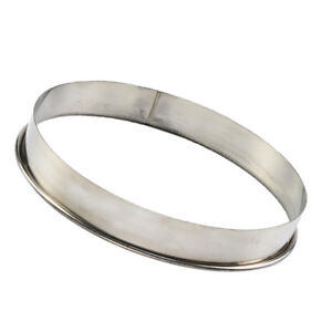 Metal Rings Molds Stainless Steel Cake Molds Pizza Baking Saucing Ring 8inch