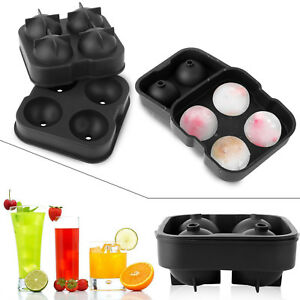 ICE Balls Maker Round Sphere Tray Mold Cube for Whiskey Ball Cocktails Silicone
