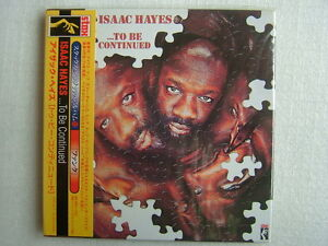SEALED NEW  ISAAC HAYES TO BE CONTINUED JAPAN CD STAX