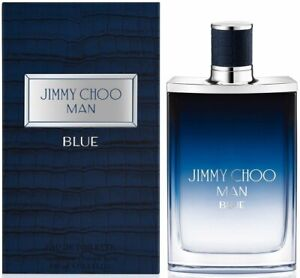 JIMMY CHOO MAN BLUE by jimmy Choo cologne for men EDT 3.4 3.3 oz NEW IN BOX $33.31