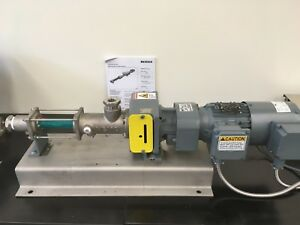 Netzch Nemo Progressive Cavity Pump NM015BY008--03S36B