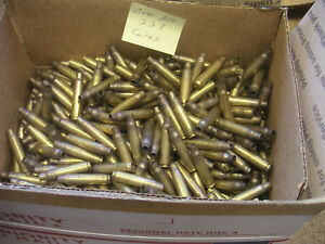 800 EMPTY BRASS RELOADING CASES 223 HUNTING SPORTING