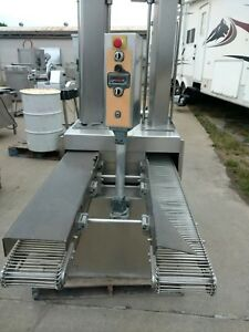 Ross 950-2 Commercial Slicer Double Lane Meat Chopper Dicing Machine