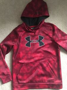 Under Armour Storm Hoody YM Red Camo