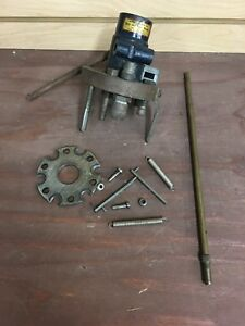 Star Machine Works Universal Press Tool Head w 45 ACP Dies And Extras