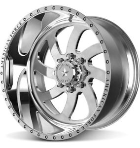 4 New American Force Blade Wheels 22x12 Offroad Chevy GMC 6x5.5