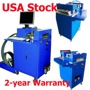 US Stock CNC Notching Notcher Machine for Metal Channel Letter Single Side