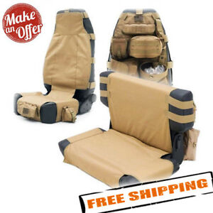 Smittybilt G.E.A.R. Front & Rear Seat Covers for 1976-2006 Jeep Wrangler Models
