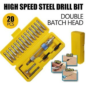 20pcs Half Time Drill High Speed Screwdriver Head 20bits Drill Driver Set Tools