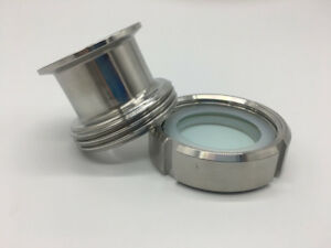 Free shipping Sanitary Tri Clamp Type Process View Sight Glass Fast loading 304