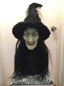 Tales From the Darkside Trick or Treat Witch Life-size Silicone Bust