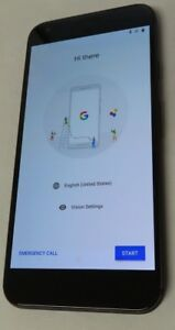 Google Pixel XL 32GB Black (Unlocked) verizon gsm burn image clean used good