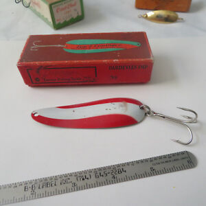 FISHING LURE VINTAGE  EPPINGER NO 216  BOX  AND SPOON