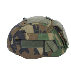 Emerson Tactical Helmet Cover Woodland for MICH 2002 ACH Helmet Hunting Ai