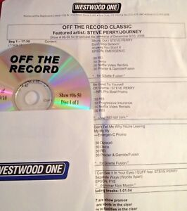 RADIO SHOW:OFF THE RECORD CLASSIC 12906 STEVE PERRYJOURNEY TRIBUTE 9 TUNES