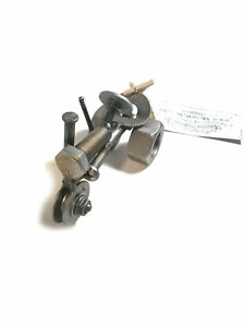 Scrap Metal Tractor Figurine Steel Tractor Nuts and Bolts Tractor Sculpture $49.95
