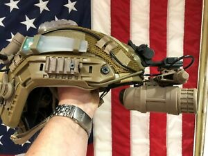Maritime Opscore Helmet + Crye Precision cover + hel star 6 + counterweight