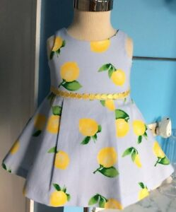 NWT janie and jack Dress Sun Day Best Line Size 3 6 Months
