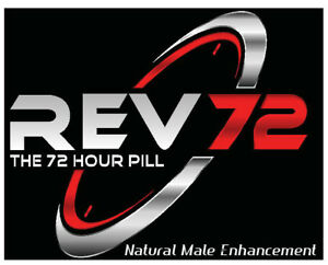 REV72 - 72 Hr Natural Male Enhancement! Best Libido Pill! Single Packs!
