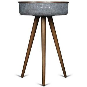 Sierra Modern Home Studio Smart Table with Built in 360° Bluetooth Speaker and