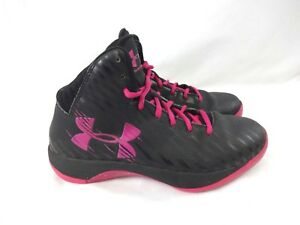Under Armour  high Tops Basketball Shoes Girl Youth or Women's Size 6.5