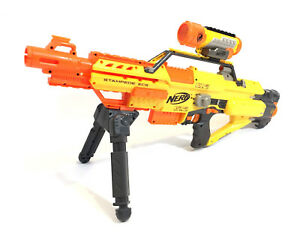 Nerf N-Strike Stampede ECS with Scope, Clip, and Rifle Rest