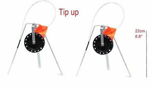 Ice Fishing Rod Tip-Up Ice compact Orange Flag tackle from Russia new