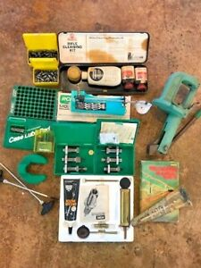 RCBS 505 Reloading Powder Scale  and ammunition reloading equipment press LOT