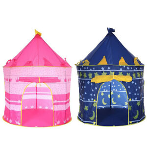 Princess Prince Castle Play House Tent Children Kids Girls Boys Indoor Outdoor