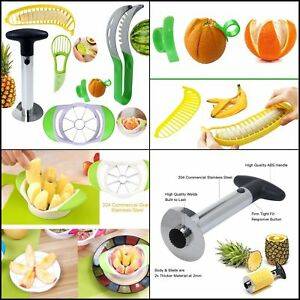 Fruit Slicer Peeler Pineapple Corer Avocado Slicer Kitchen Fruit Tools Set of 6
