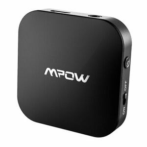 Mpow Bluetooth5.0 Transmitter Audio Optical Aux 3.5mm Wireless Adapter for TV PC