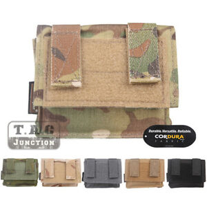 Emerson FAST Helmet Cover Removable Rear Pouch NVG Counterweight Battery Pouch