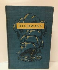 Antique 1940 Hardcover The Realm Of Reading Highways Good Condition