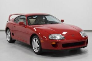 1994 Toyota Supra  1994 2dr Turbo Wsport Roof Auto Used Automatic Leather Red