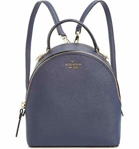 kate spade cameron street blazer BLUE leather binx CONVERTIBLE BACKPACK HANDBAG
