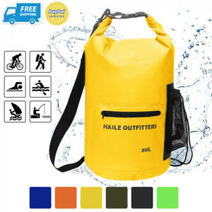 HASLE OUTFITTERS Waterproof Dry Bag-10L20L30L Roll Top Compression Sack...