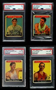 Goudey 1933 Sport Kings Almost Complete Set VGEX