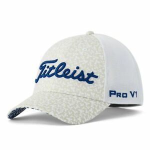 New SOLD OUT Titleist Aloha Tour Sports Mesh Golf Hat Men's White Cap LXL